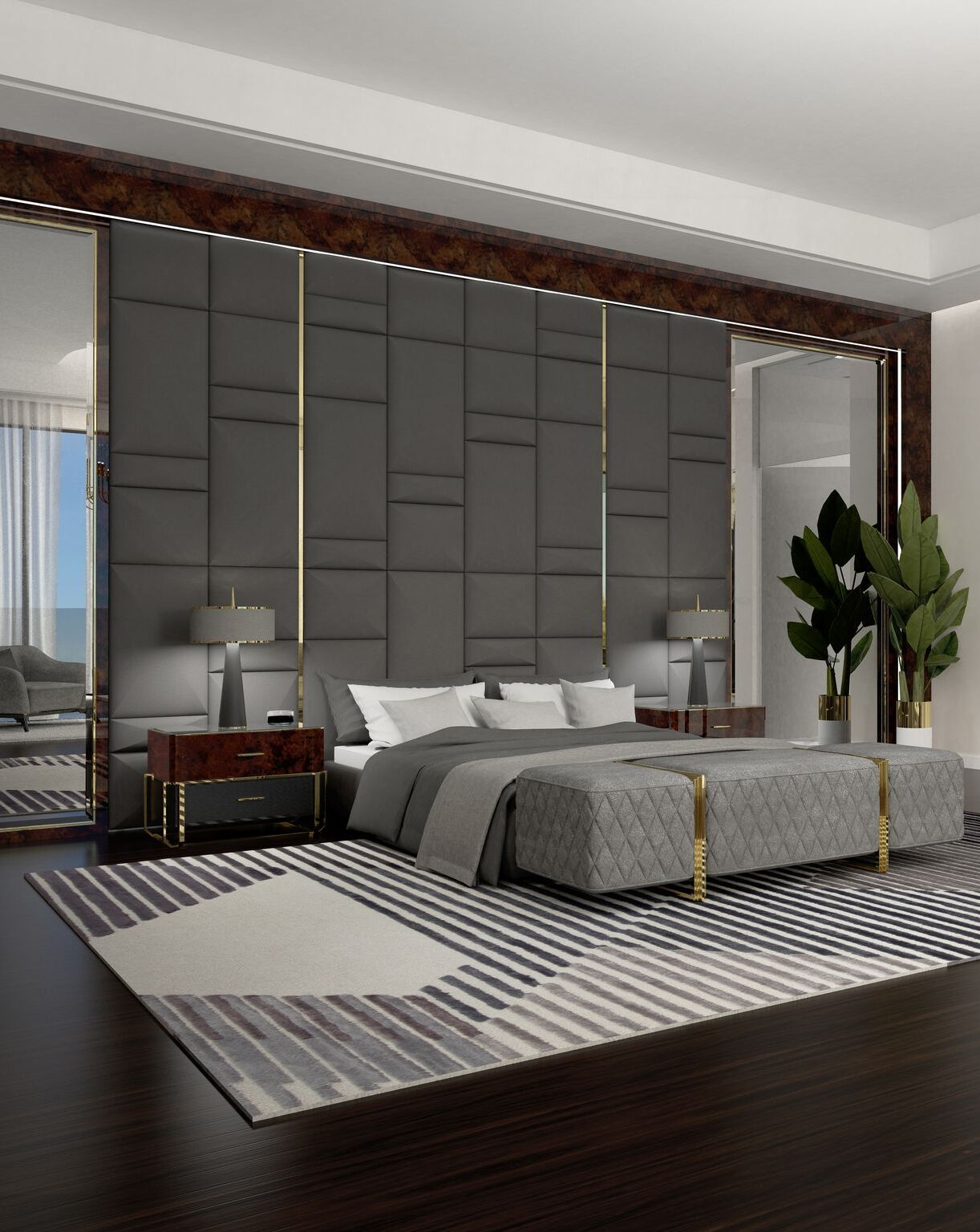 Luxury Bedroom by Rug'Society by Rug'Society