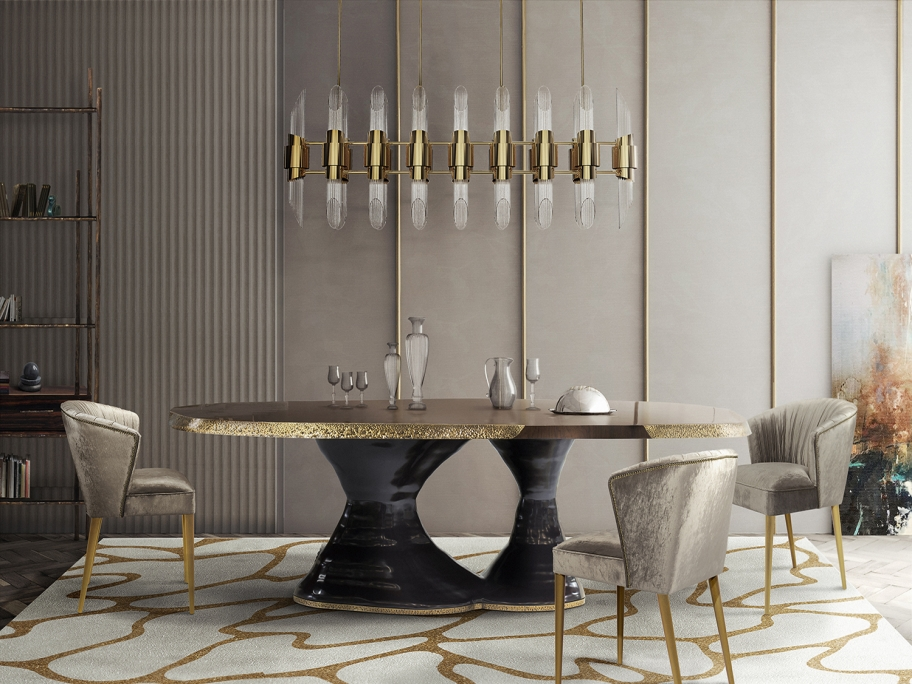 Rug'Society CELL Rug Dining Room by Rug'Society
