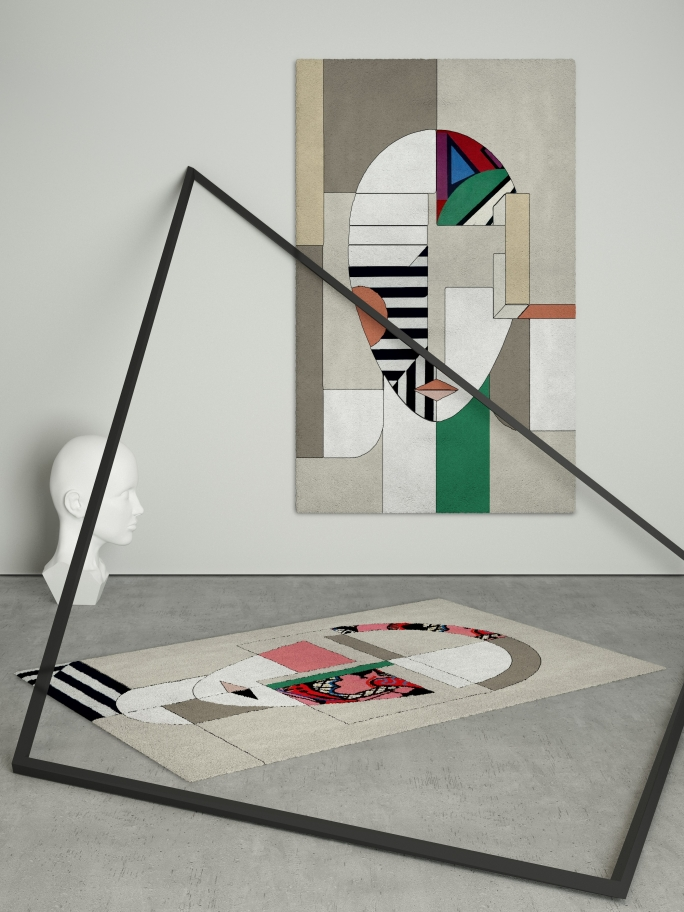 Rug'Society Geometric OSCAR and MIRA Combination by Rug'Society