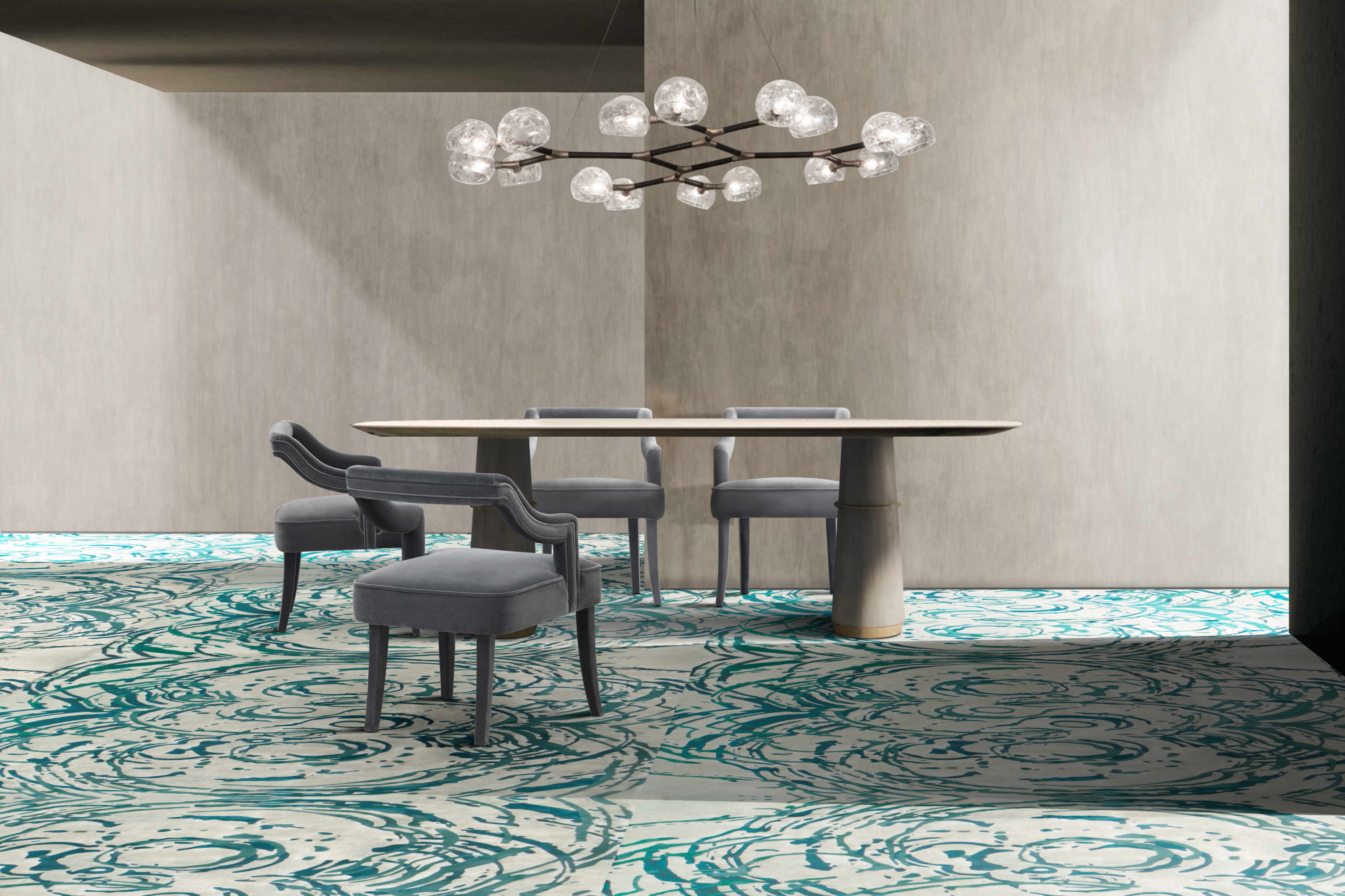 Rug'Society MERFILUS Rug Dining Room by Rug'Society