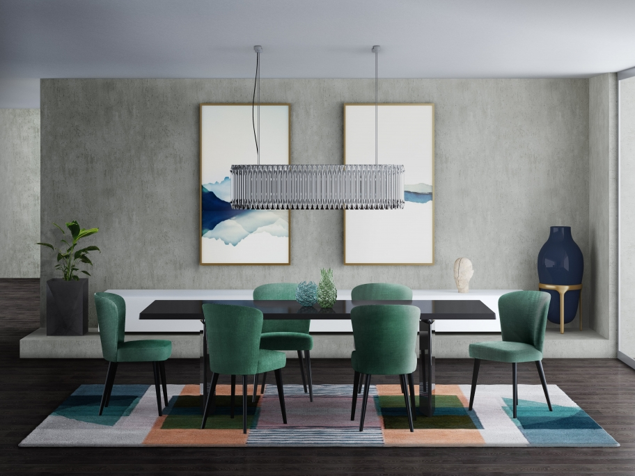 Rug'Society PRISMA III Dining Room by Rug'Society