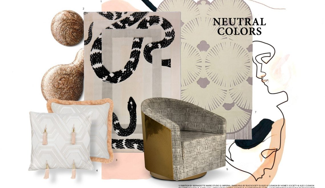 Neutral Colors – Trends 2019
