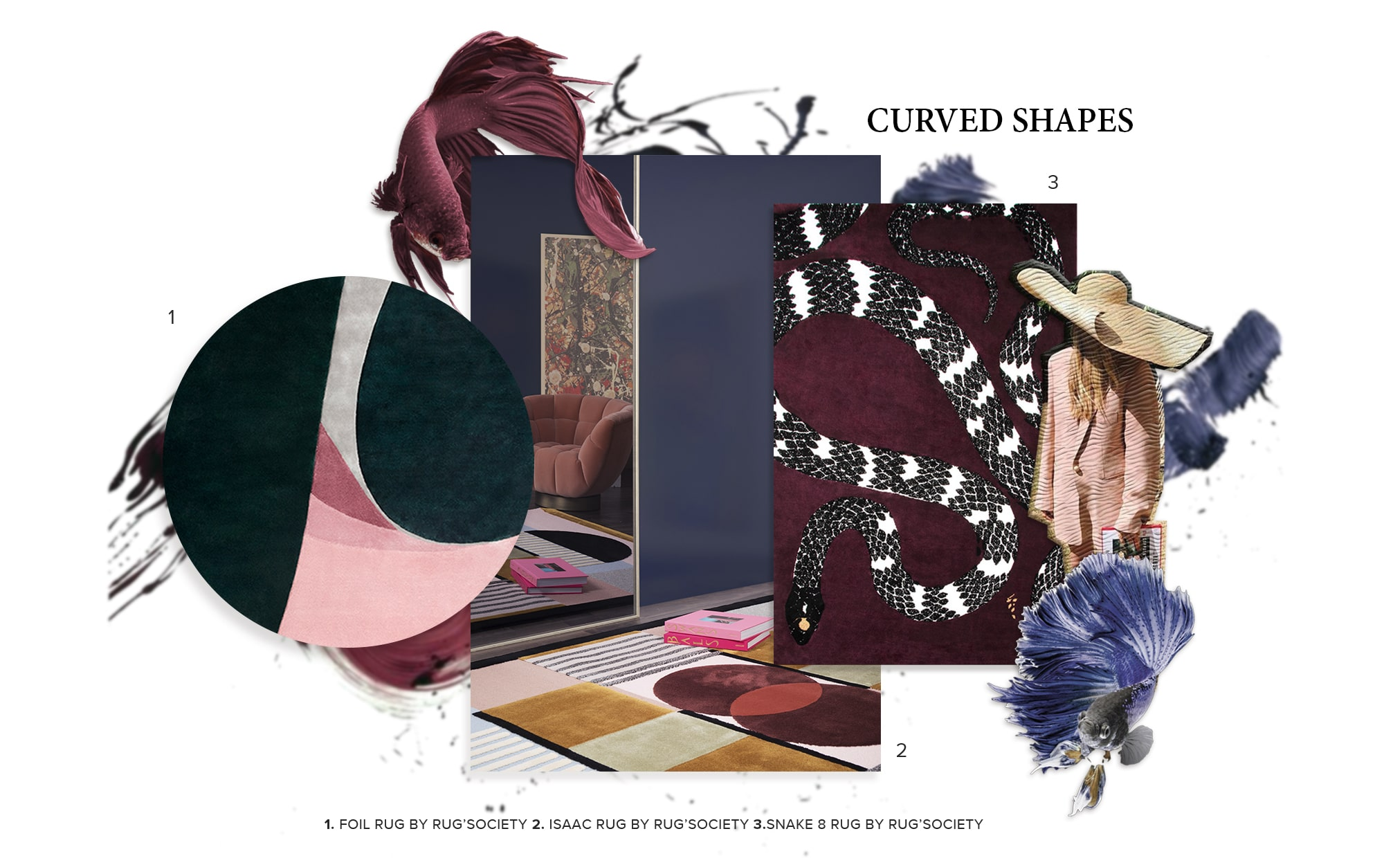 Curved Shapes - Trends 2019