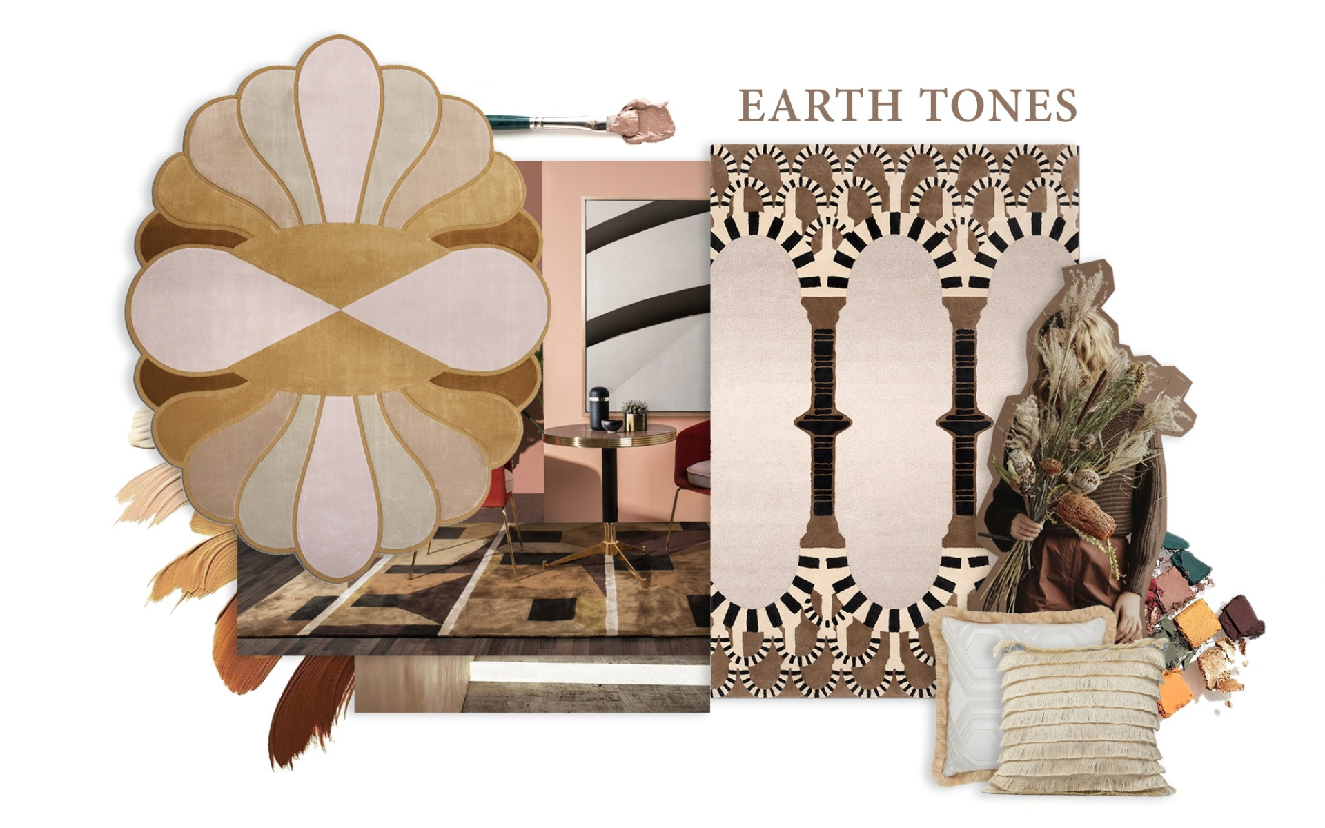 Earth Tones - Trends 2019
