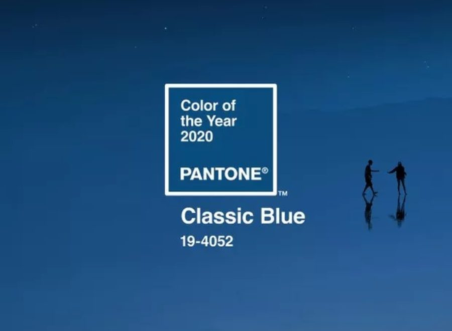 Pantone'sColour of the Year: Classic Blue