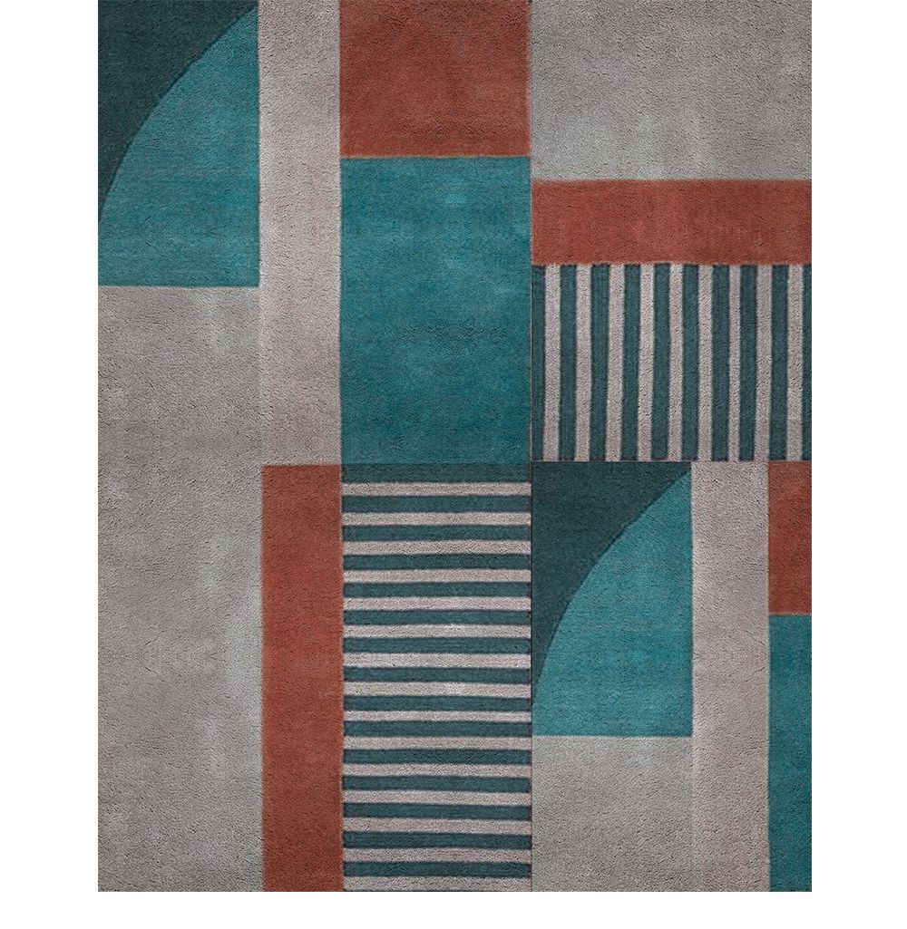 5 Rugs To A Colourful Interior Design