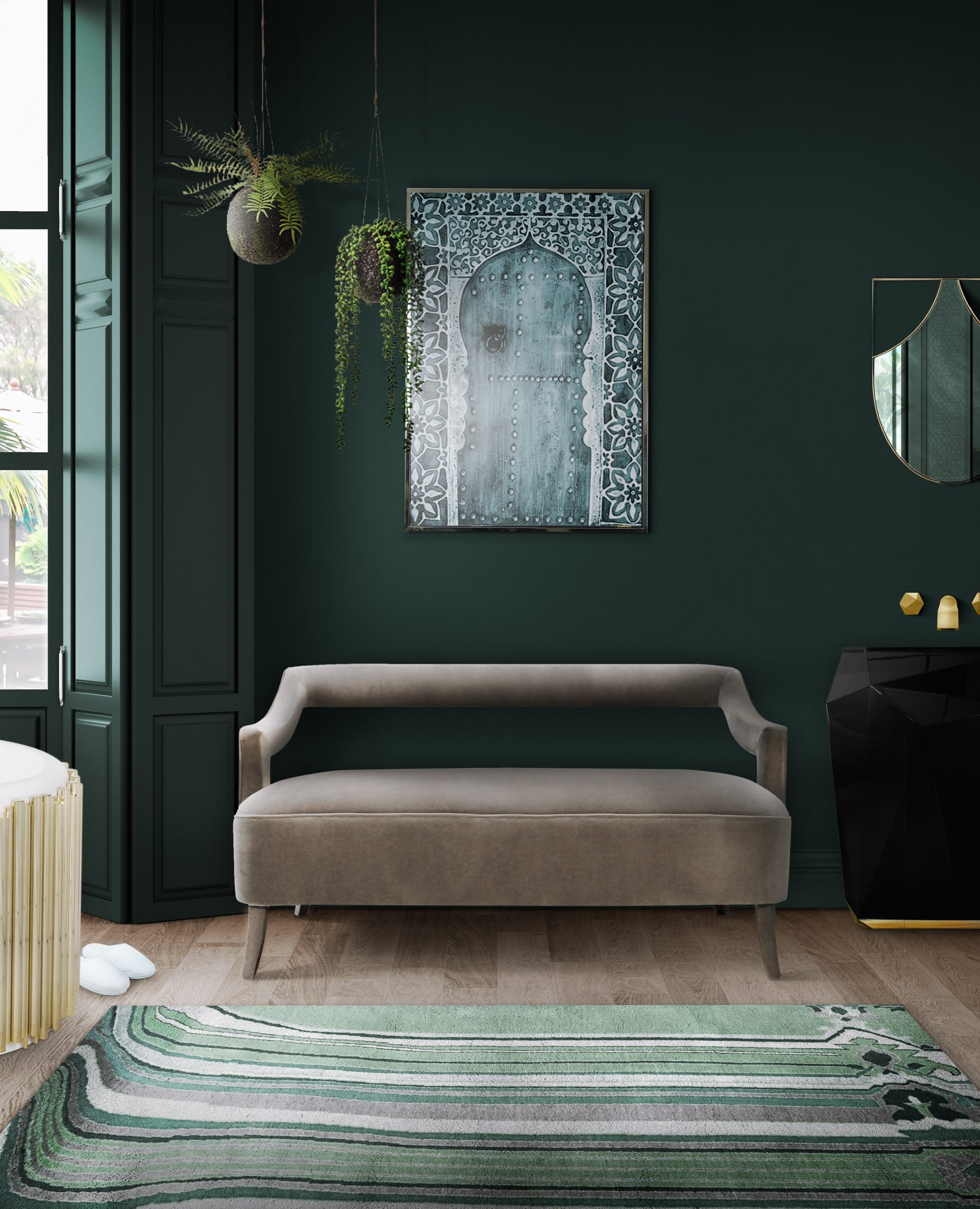 The Trendiest Colors For Interior Design