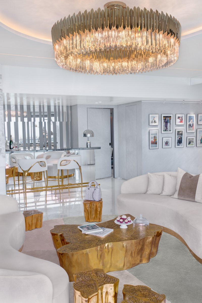 Vratika and Nakul: A Luxurious and Magnificent Apartment