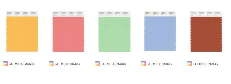 Pantone Spring Summer 2021 Interior Design Colour Trends