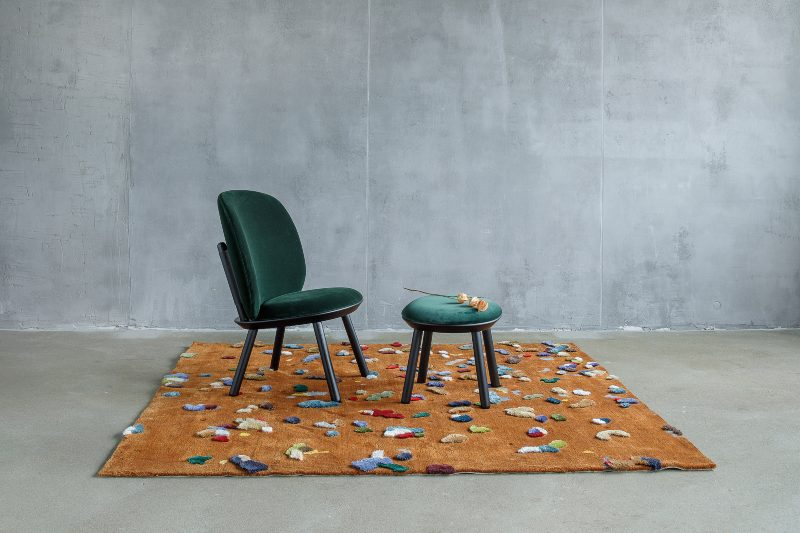 EMKO - Creating A Confetti Rug With Linen Offcuts