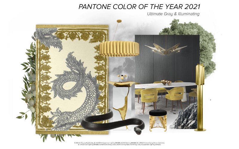 Pantone 2021 Color of The Year, Rug Decoration and Inspiration