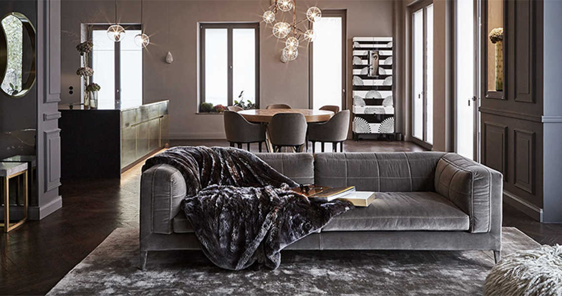 A neutral but unique rug selection from 20 Berlin Interior Designers