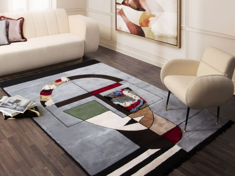 25 Rectangular Rugs That Will Give an Extra Shape to Your Home Design