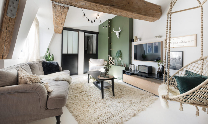 Sweet Homes with Rugs by the best Interior Designers in Lyon