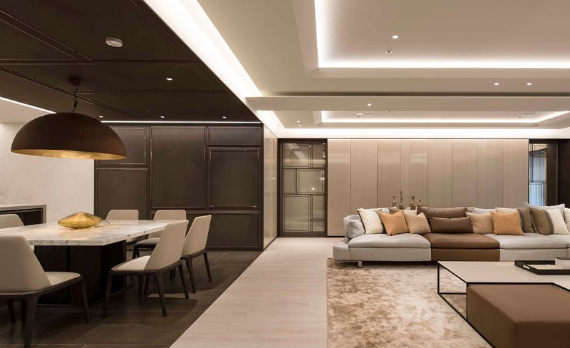 Inspiring Interior Designers Projects From Taipei That You Must See the best interior design projects in taipei The Best Interior Design Projects In Taipei chain interior 1