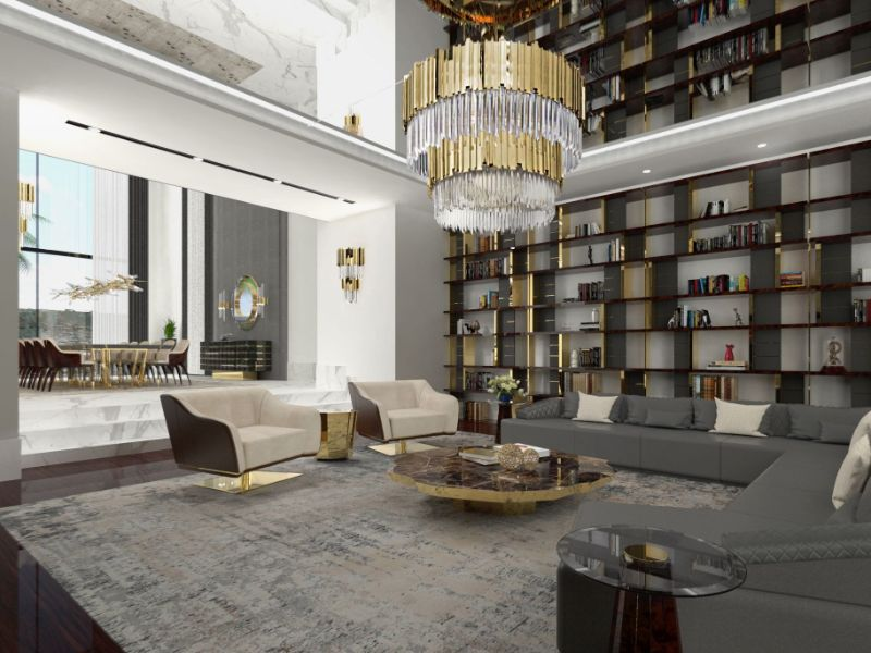 Inspiring Interior Designers Projects From Taipei That You Must See the best interior design projects in taipei The Best Interior Design Projects In Taipei modern classic living room with ruin rug 000000 rug society