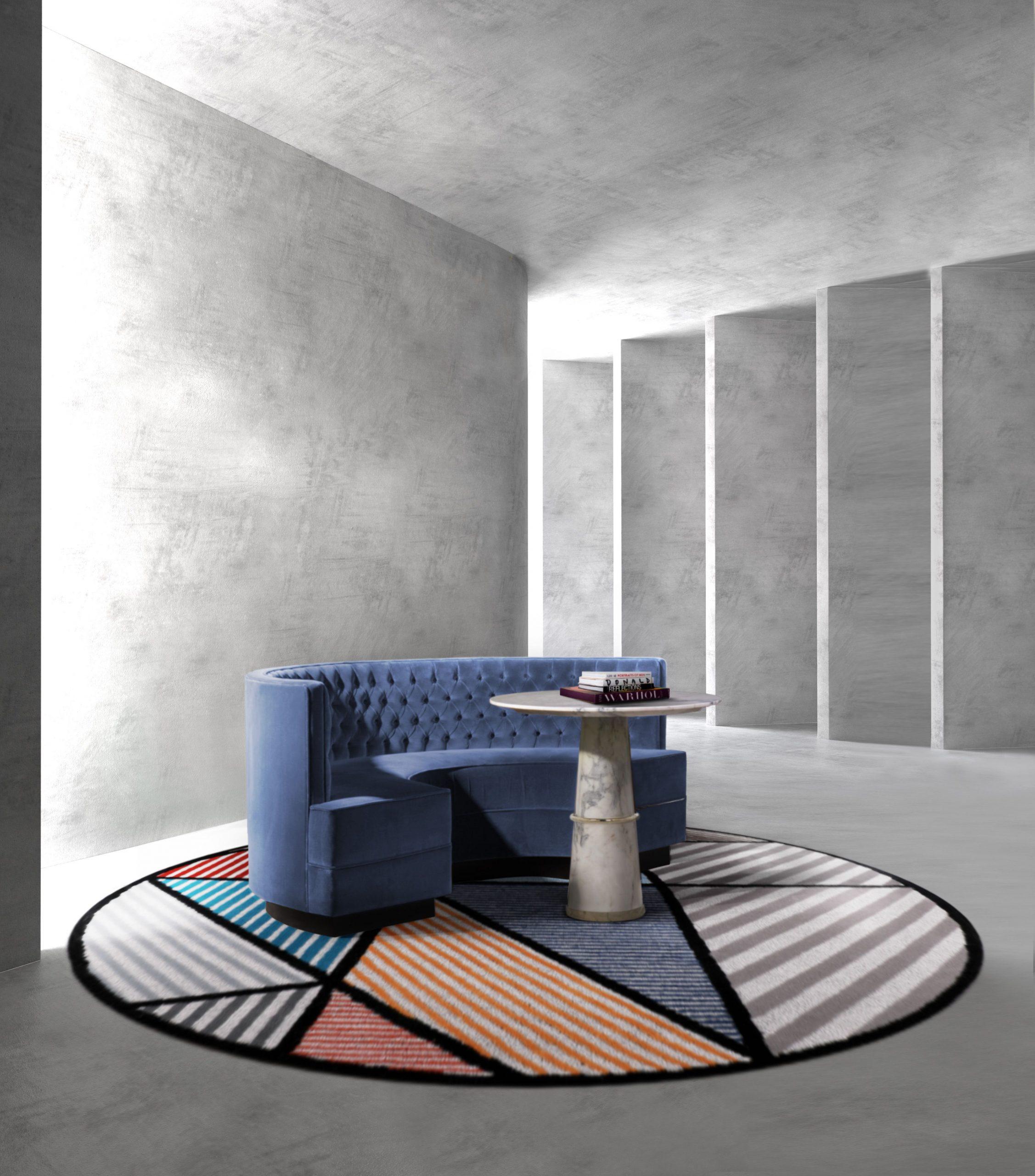 Curved Shapes, The Trendiest Rug Design for Spring 2021