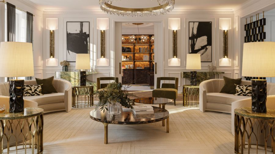 The Eternel Parisian Apartment by BRABBU With Rug'Society