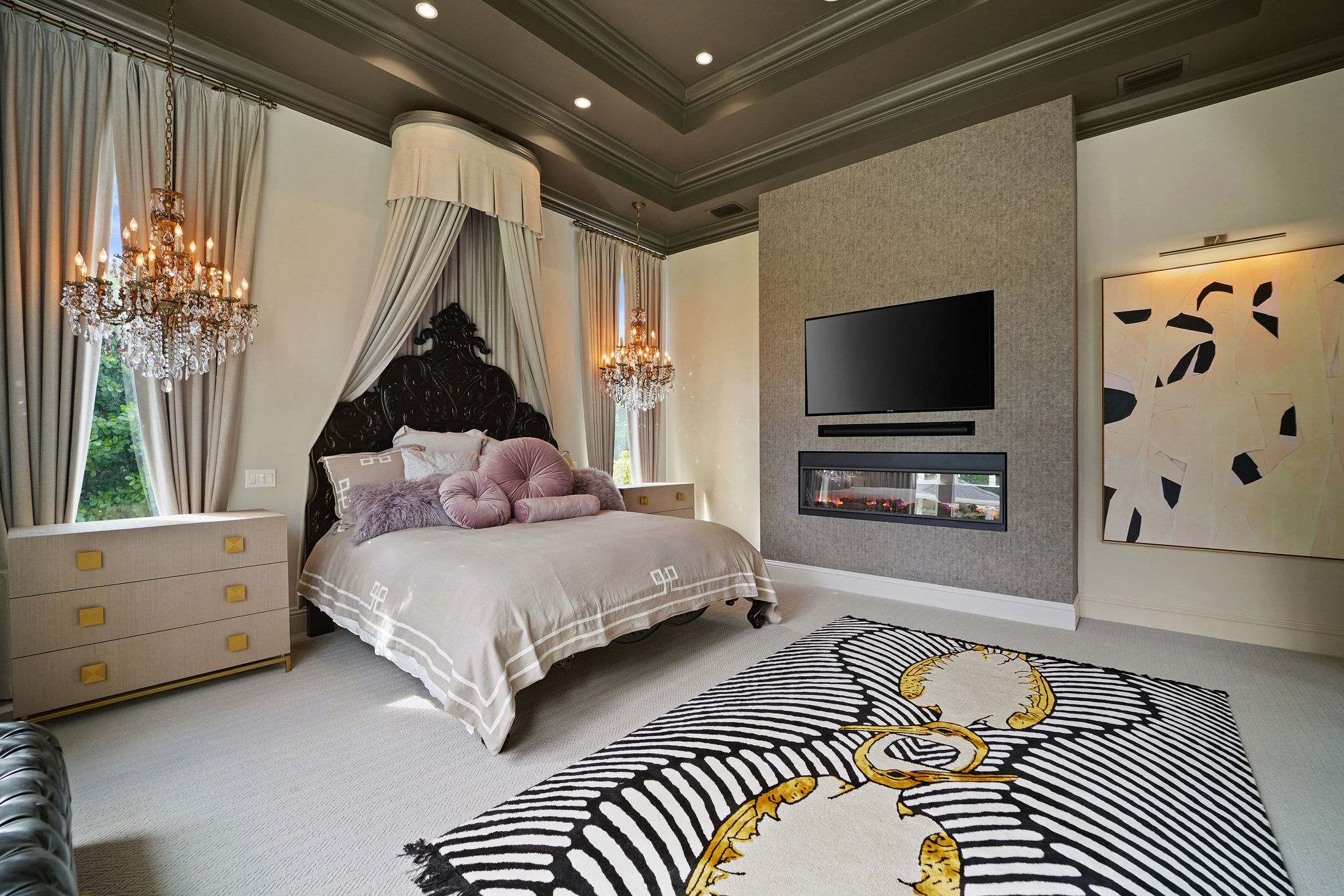 A Romantic Vibe With Eclectic Accents - The New Project By Hillary White With Rug'Society