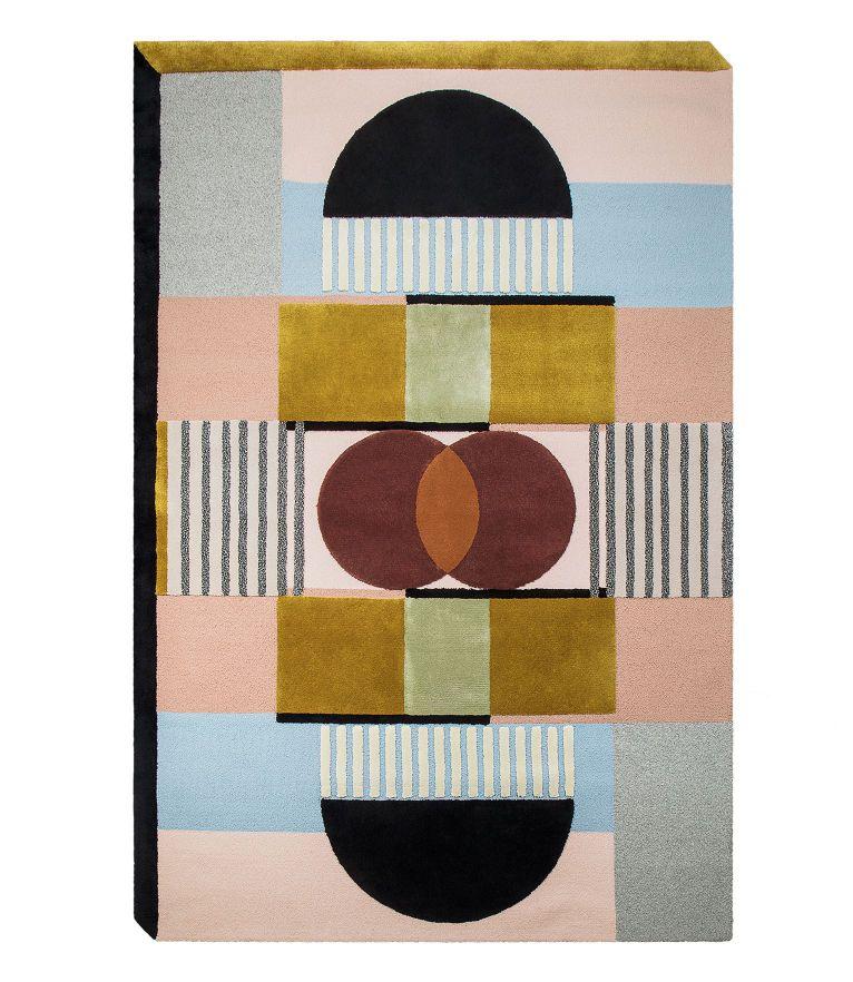 Oscar - 5 Mid-Century Modern Rugs Idea To A Colorful Interior Design
