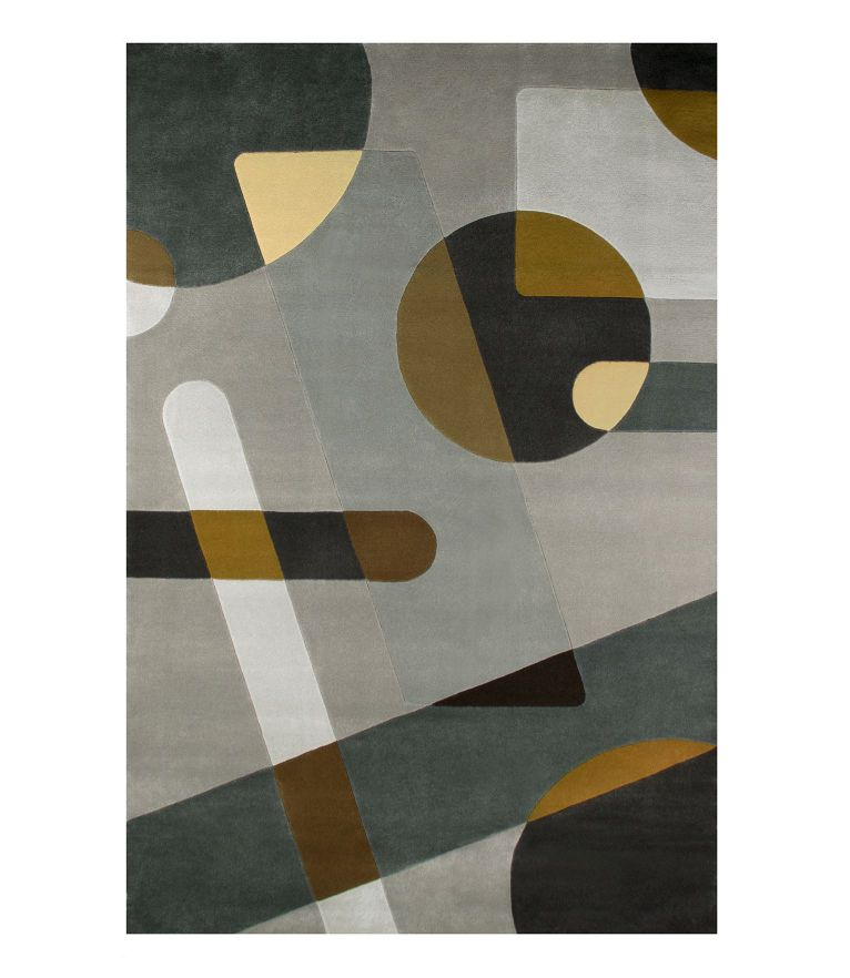 Joh Rug - 5 Mid-Century Modern Rugs Idea To A Colorful Interior Design
