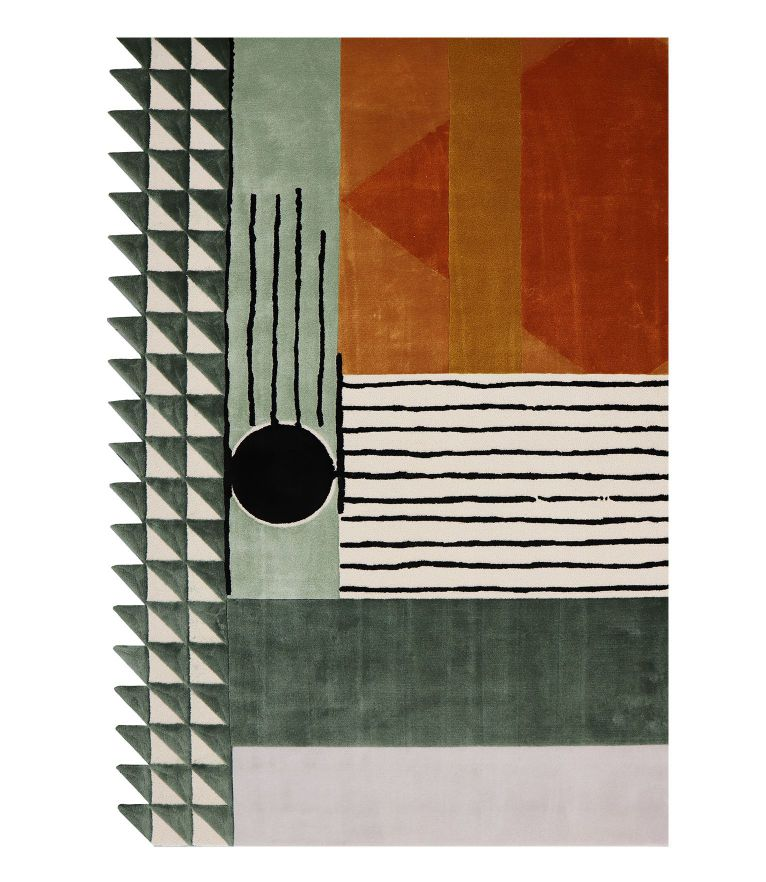 Isaac - 5 Mid-Century Modern Rugs Idea To A Colorful Interior Design