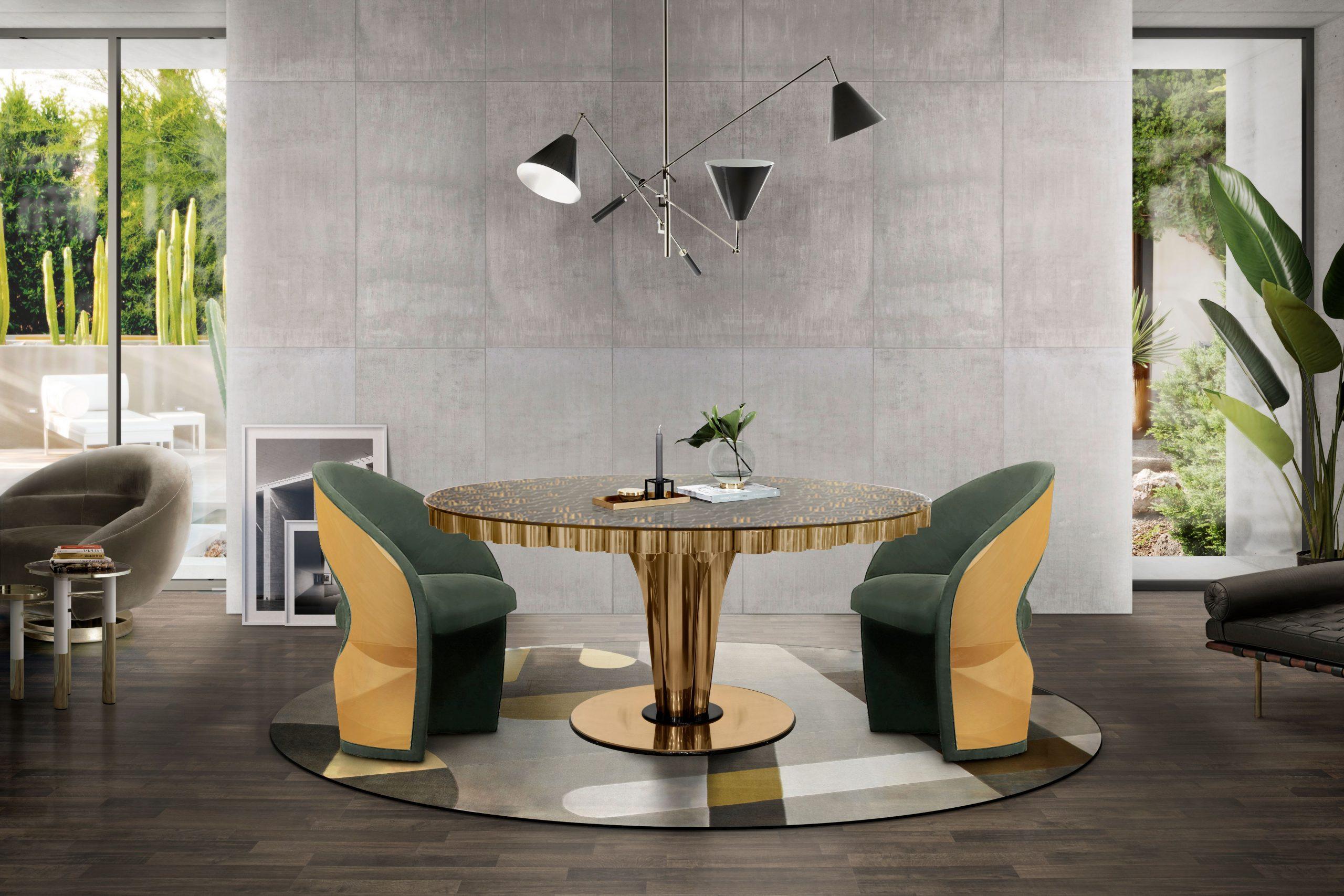 5 mid-century modern rug ideas - Mid-century Dining Room
