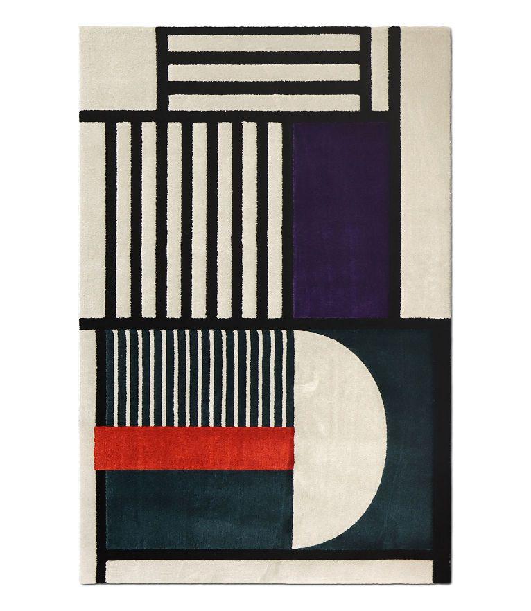5 mid-century modern rug ideas - Prisma I Rug