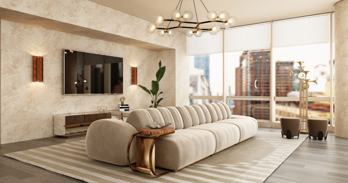 Neutral Modern Rugs and Decor: 5 Ideas For Your Living Room