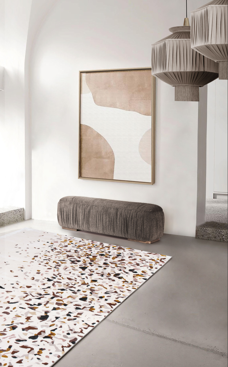 Neutral Modern Rugs and Decor