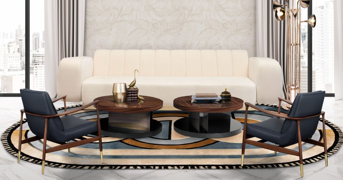 Oval Rugs Ideas To Complete Your Living Room Design