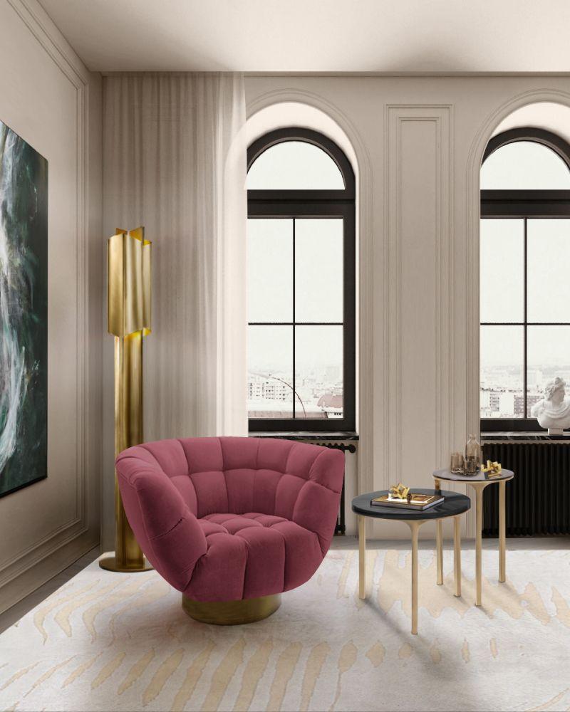 Rug's Inspirations For a Fantastic Home Interior Design reading corner white and beige rug