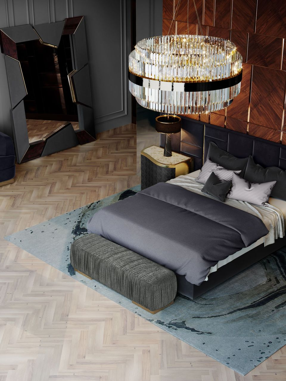 Contemporary Bedroom Rugs For Kids And Grownups