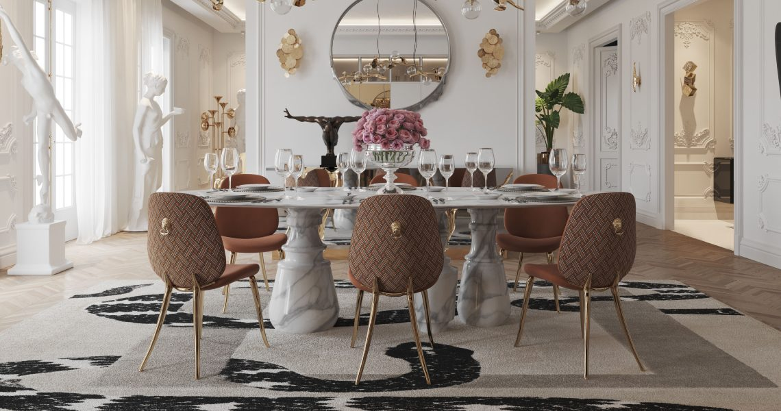 5 Luxurious Carpets For Dining Rooms