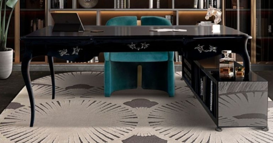 5 Innovative Ways of styling your office with rugs