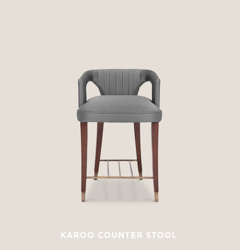 Karoo Counter Stool by BRABBU