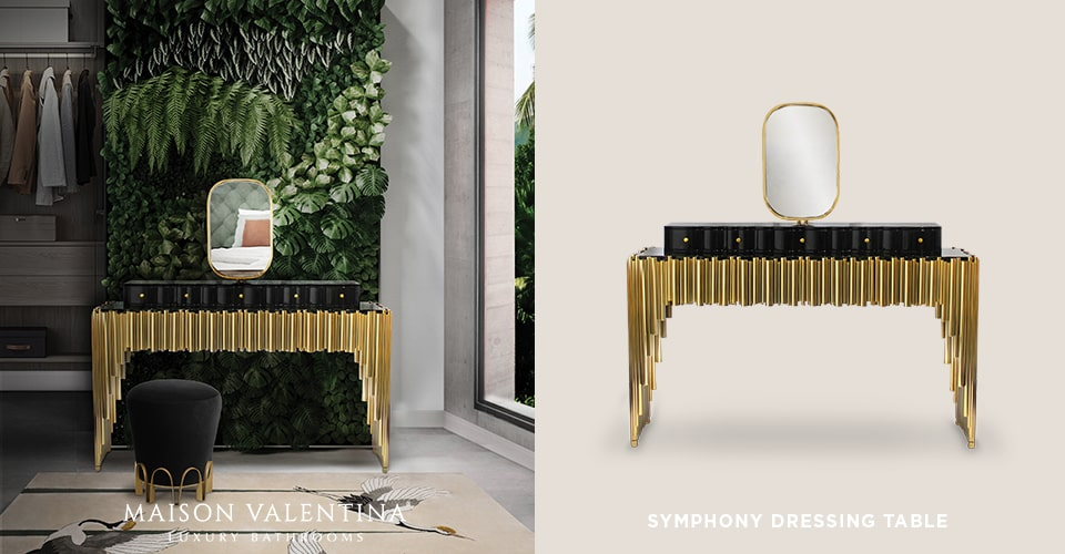 Symphony Dressing Table by Maison Valentina