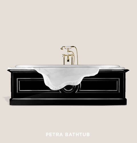 Petra Bathtub by Maison Valentina