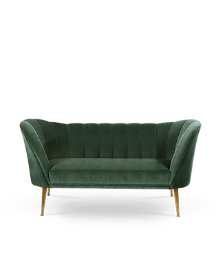 Andes 2 Seat Sofa by BRABBU
