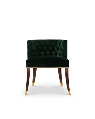 Bourbon Dining Chair by BRABBU