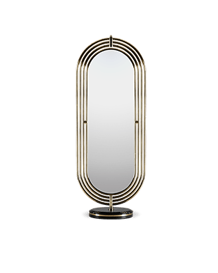 Colosseum Floor Mirror by Maison Valentina