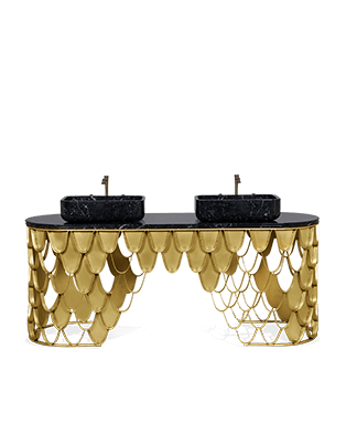 Koi Single Washbasin by Maison Valentina