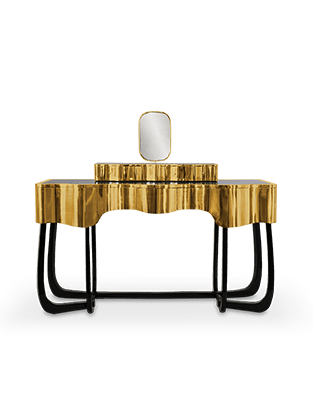Sinuous Dressing Table by Maison Valentina