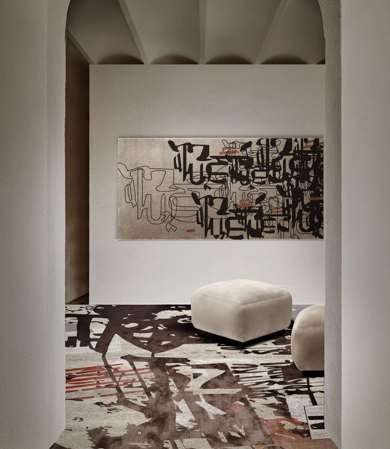 Graff Rug by Rug'Society