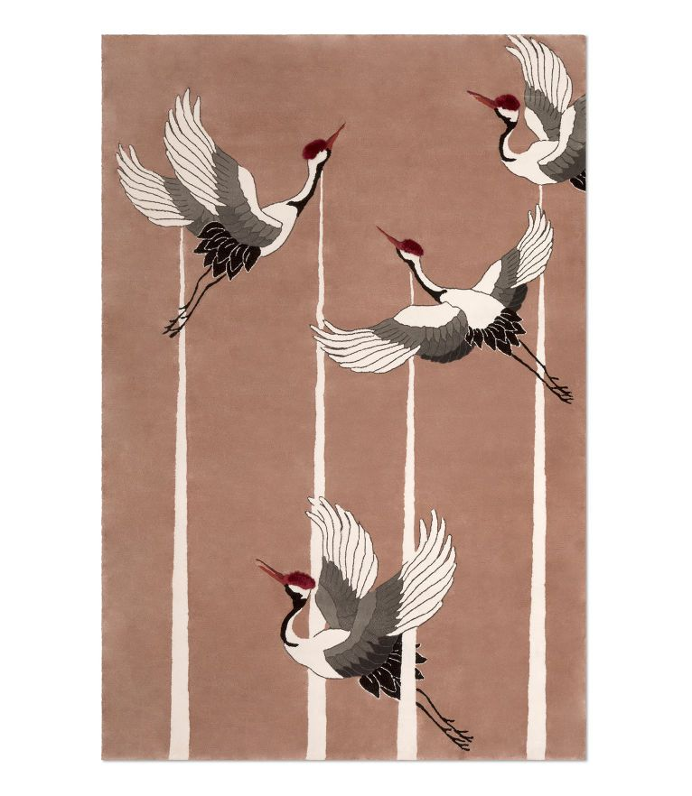 Heron Rug by Rug'Society