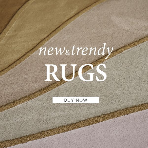 New and Trendy Rugs - Shaggy and Lounge Rugs - Buy Now