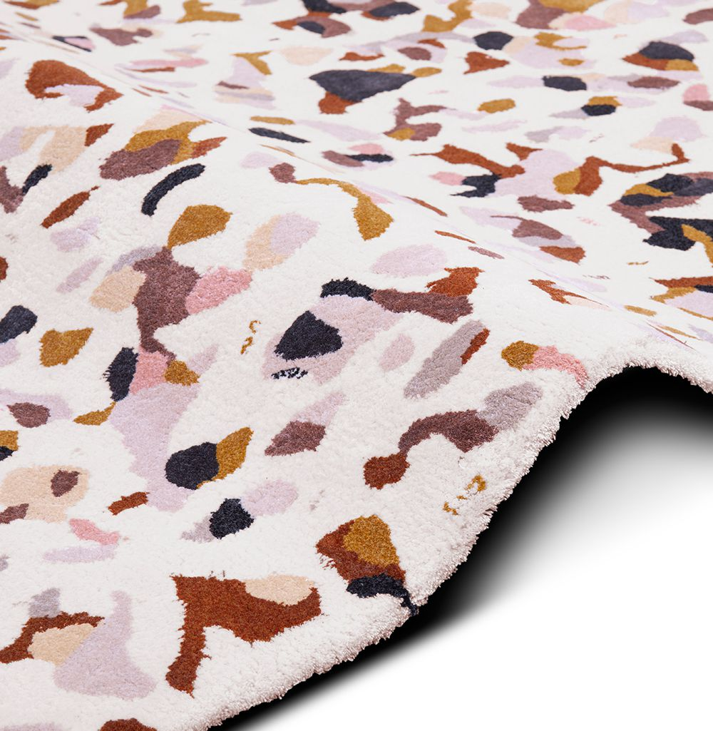 Terrazzo Neutral Rug Society The Deluxe Of Past Present