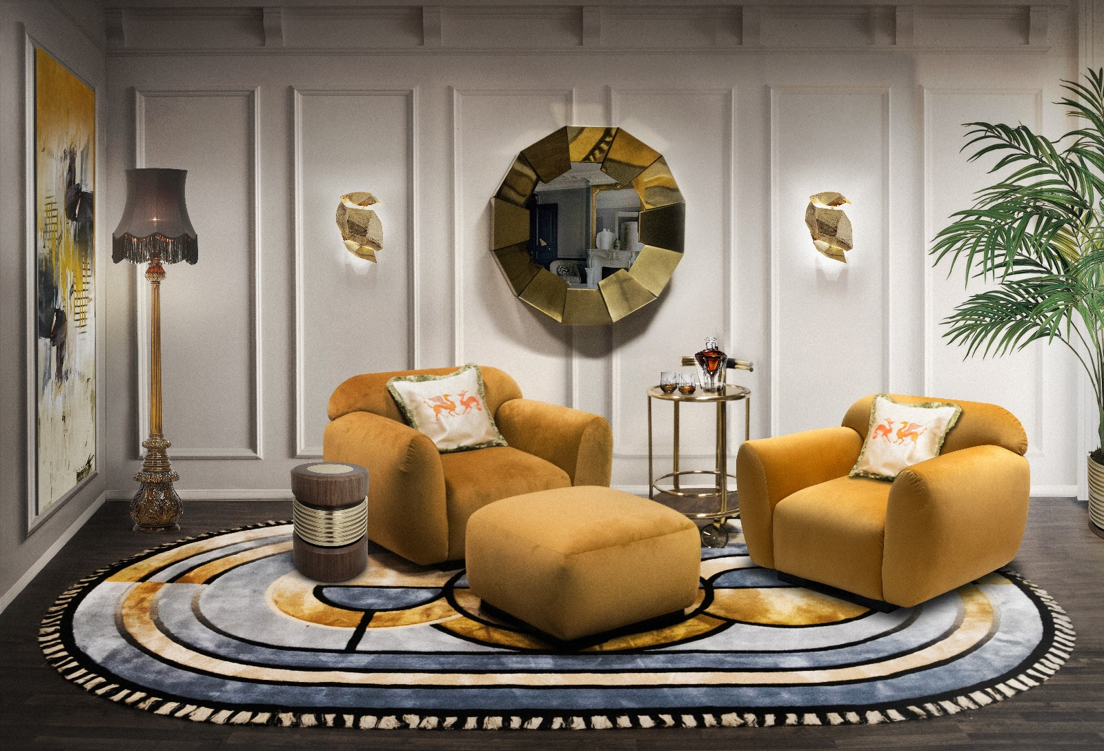 Lounge Rugs- The Essential Elements of Interior Design