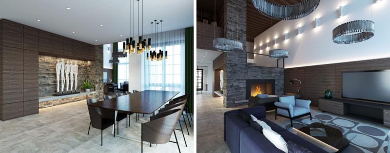 Kiev Wonderful Projects: Stylish Displays of Sophistication