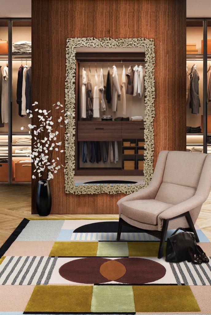 Dressing Room Rugs - Isaac Rug Dressing Room